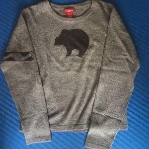 Brown Sundance Bear Sweater